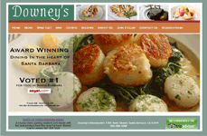 Downey's Restaurant Screen