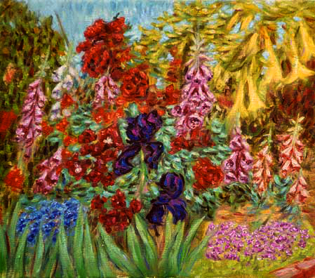 """Ann's Fox Gloves, 2002"""