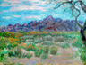 Arizona Desert Oil Painting