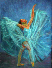 The Blue Dancer