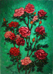 """Roses on Green"""