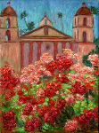 """Roses at the Mission"""