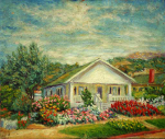 """House and Garden in Santa Barbara"""