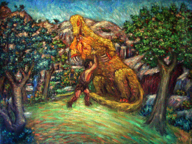 Quot Siegfried Slaying The Dragon Quot Wagner S Ring Paintings