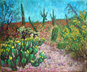 """Sonoran Desert in Bloom"" Oil Painting"