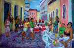 """Sunday Afternoon in the Pelourinho With Elviane and Her Friends """