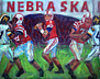 """Taylor Martinez"" Nebraska Football oil painting"